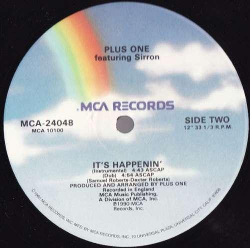 Plus-One-Featuring-Sirron-It-039-s-Happenin-039-12-034-Vinyl-Schallplatte-18943