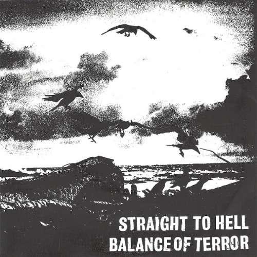 """Balance Of Terror / Straight To Hell - Balance Of 7"""" Vinyl Schallplatte - 8329 - Mülheim, NRW, Deutschland - Balance Of Terror / Straight To Hell - Balance Of 7"""" Vinyl Schallplatte - 8329 - Mülheim, NRW, Deutschland"""