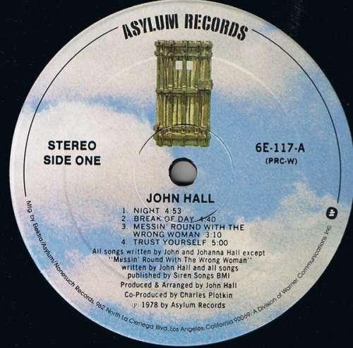 John-Hall-John-Hall-LP-Album-PRC-Vinyl-Schallplatte-69529