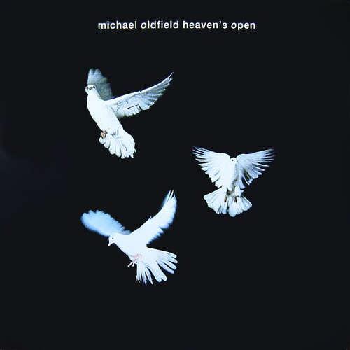 Michael-Oldfield-Heaven-039-s-Open-7-034-Single-Vinyl-Schallplatte-30685