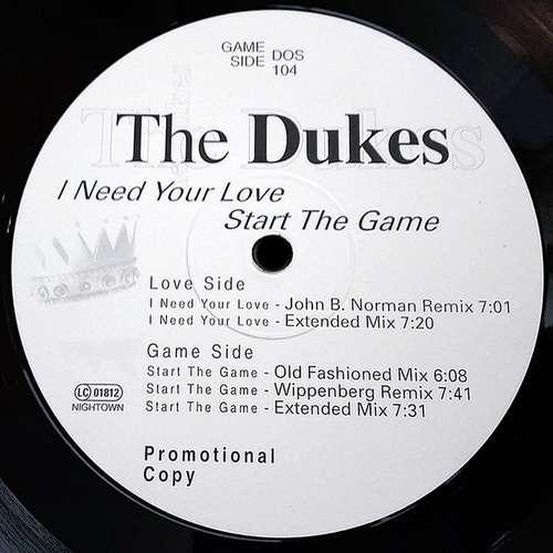 The-Dukes-I-Need-Your-Love-12-034-Promo-Vinyl-Schallplatte-24722