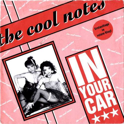 The-Cool-Notes-In-Your-Car-7-034-Single-Red-Vinyl-Schallplatte-4576