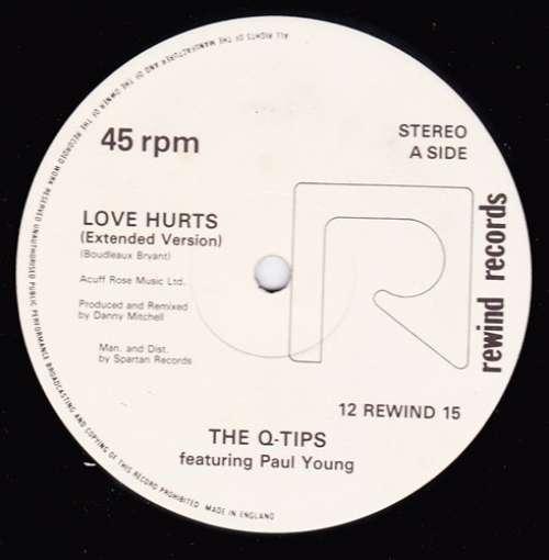 The-Q-Tips-Featuring-Paul-Young-Love-Hurts-12-12-034-Vinyl-Schallplatte-93298