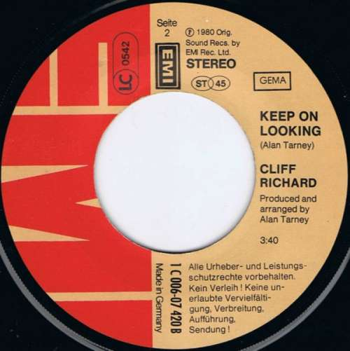 Cliff-Richard-In-The-Night-7-034-Single-Vinyl-Schallplatte-10398