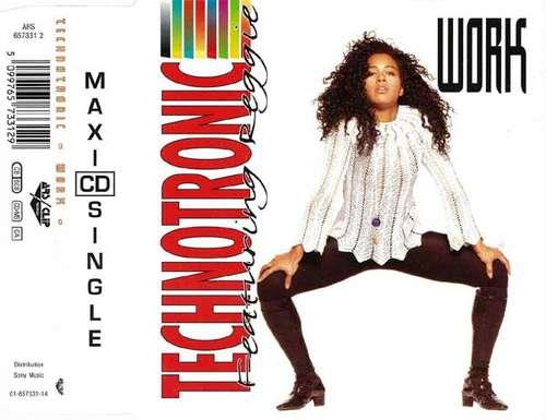 Technotronic-Featuring-Reggie-Work-CD-Maxi-CD-3893