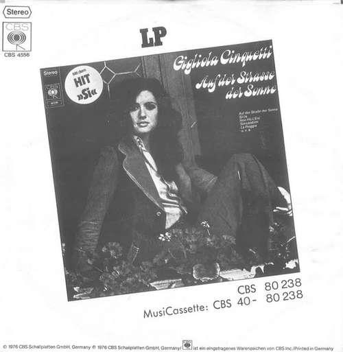 Gigliola-Cinquetti-Unser-Sommer-Der-Liebe-Has-7-034-Vinyl-Schallplatte-31707