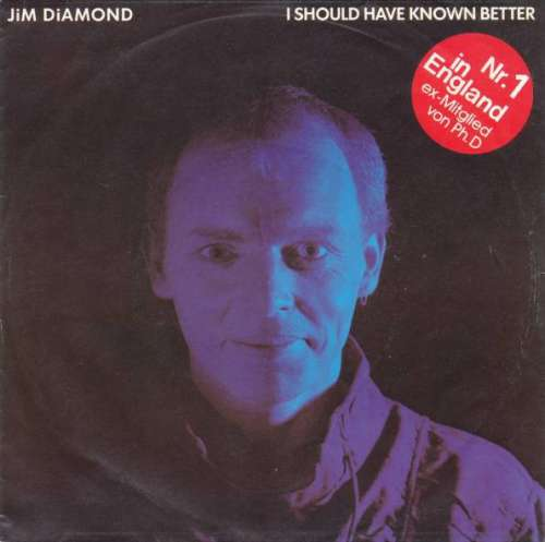 Jim-Diamond-I-Should-Have-Known-Better-7-034-Sing-Vinyl-Schallplatte-9226