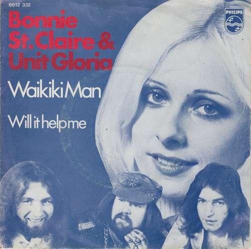 Bonnie-St-Claire-amp-Unit-Gloria-Waikiki-Man-7-034-Vinyl-Schallplatte-22387