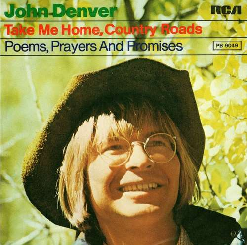 John-Denver-Take-Me-Home-Country-Roads-Poems-7-034-Vinyl-Schallplatte-29617