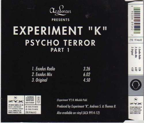 Experiment-034-K-034-Psycho-Terror-Part-1-CD-Maxi-CD-1378