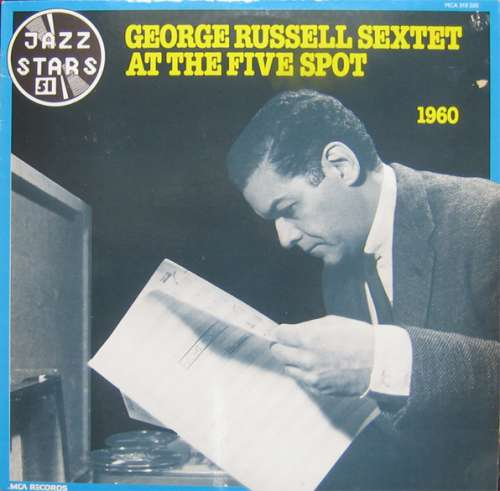 George-Russell-Sextet-At-The-Five-Spot-LP-Al-Vinyl-Schallplatte-50361