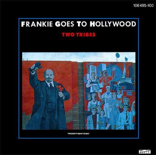 Frankie-Goes-To-Hollywood-Two-Tribes-7-034-Singl-Vinyl-Schallplatte-22283