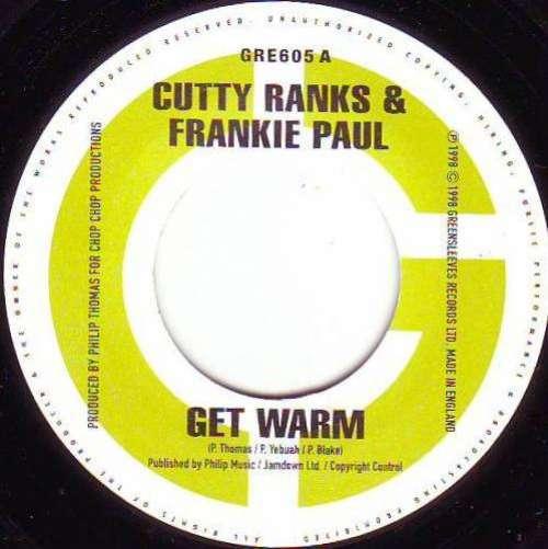 Cutty-Ranks-amp-Frankie-Paul-Get-Warm-7-034-Vinyl-Schallplatte-4852