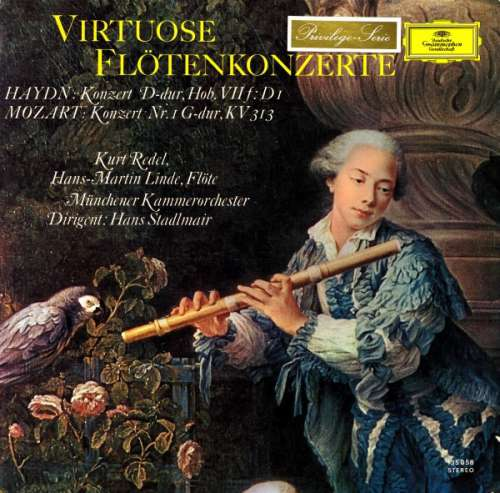 Haydn-Mozart-Kurt-Redel-Hans-Martin-Linde-Vinyl-Schallplatte-63877