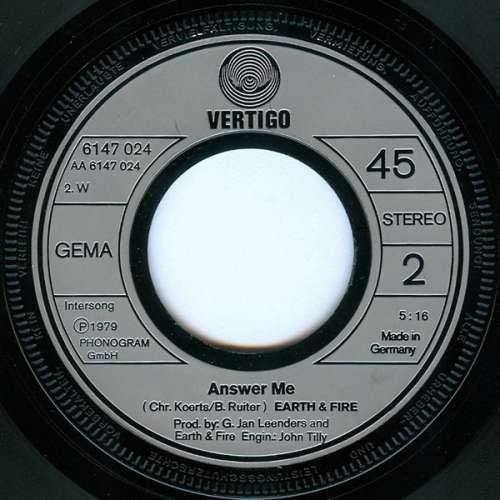 Earth-And-Fire-Weekend-7-034-Single-Vinyl-Schallplatte-4442