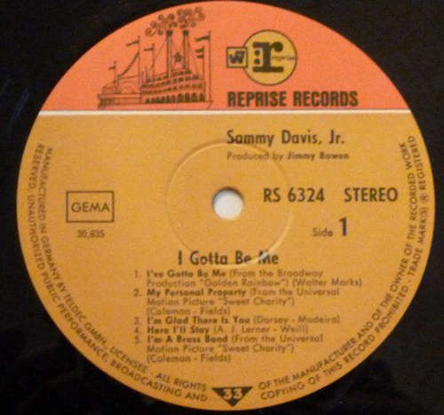 Sammy-Davis-Jr-I-039-ve-Gotta-Be-Me-LP-Album-Vinyl-Schallplatte-142151
