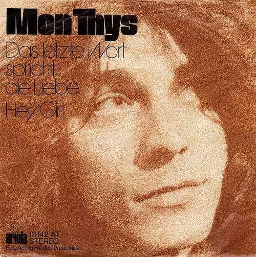 Mon-Thys-Das-Letzte-Wort-Spricht-Die-Liebe-He-7-034-Vinyl-Schallplatte-25669