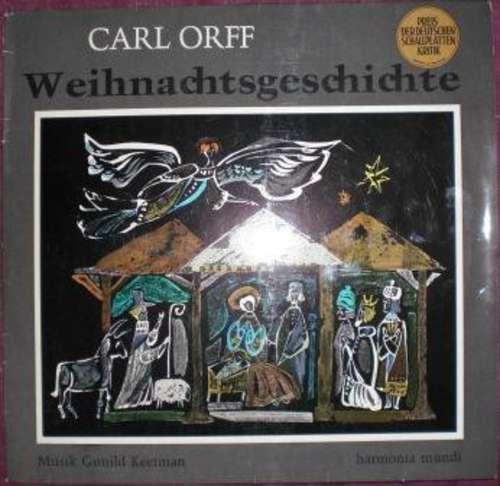 Carl-Orff-Weihnachtsgeschichte-LP-Vinyl-Schallplatte-131212