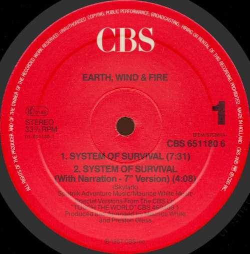 Earth-Wind-amp-Fire-System-Of-Survival-12-034-Mixe-Vinyl-Schallplatte-89554
