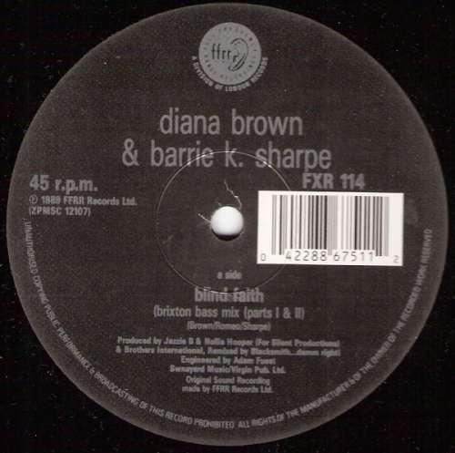 Diana-Brown-amp-Barrie-K-Sharpe-Blind-Faith-12-034-Vinyl-Schallplatte-28966
