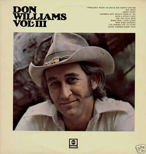 Don-Williams-Vol-III-LP-Album-Vinyl-Schallplatte-82416
