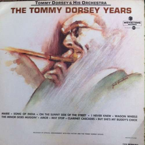 Tommy-Dorsey-amp-His-Orchestra-The-Tommy-Dorsey-Vinyl-Schallplatte-74356