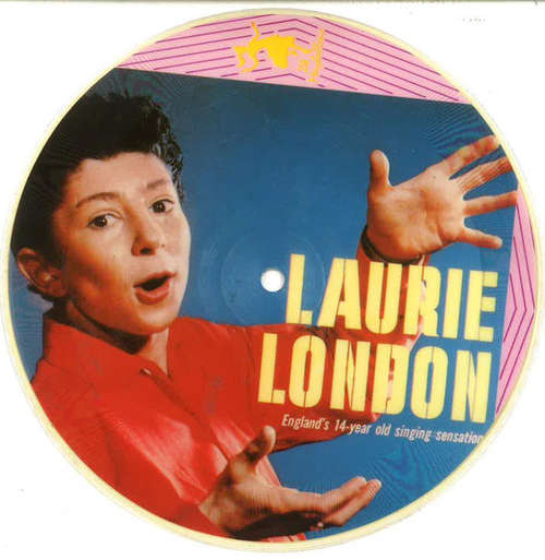 Laurie-London-He-039-s-Got-The-Whole-World-In-His-H-7-034-Vinyl-Schallplatte-28804