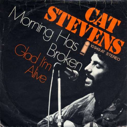 Cat-Stevens-Morning-Has-Broken-Glad-I-039-m-Alive-7-034-Vinyl-Schallplatte-29647