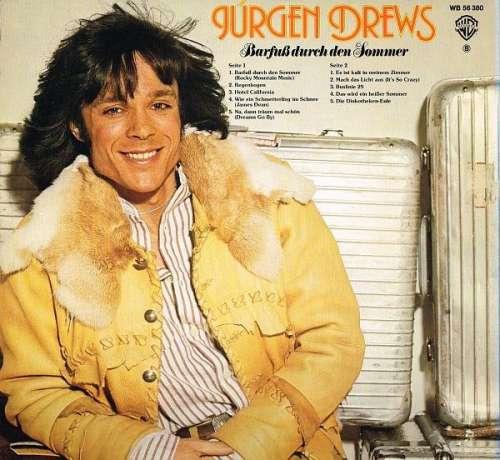 Juergen-Drews-Barfuss-Durch-Den-Sommer-LP-Albu-Vinyl-Schallplatte-117971