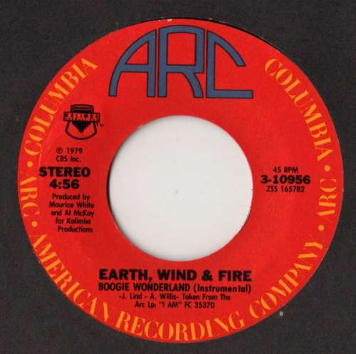 Earth-Wind-amp-Fire-With-The-Emotions-Boogie-Wonder-7-034-Vinyl-Schallplatte-78