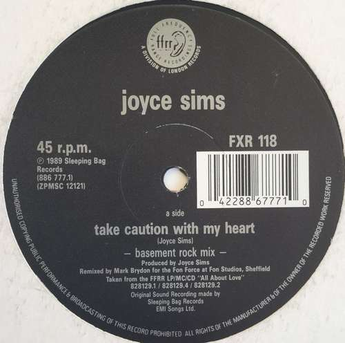 Joyce-Sims-Take-Caution-With-My-Heart-12-034-Vinyl-Schallplatte-60469
