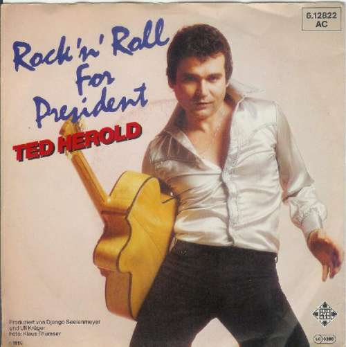 Ted-Herold-Rock-039-n-039-Roll-For-President-7-034-Sin-Vinyl-Schallplatte-11474