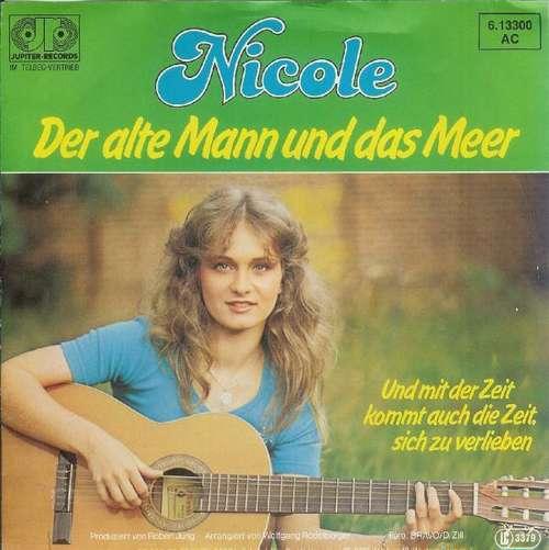 Nicole-Der-Alte-Mann-Und-Das-Meer-7-034-Single-Vinyl-Schallplatte-33503