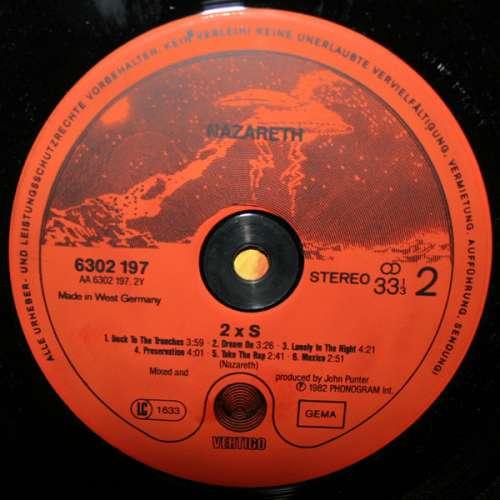 Nazareth 2xs Lp Album Vinyl Schallplatte 122005