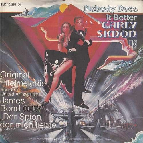 Carly-Simon-Nobody-Does-It-Better-7-034-Single-Vinyl-Schallplatte-24911