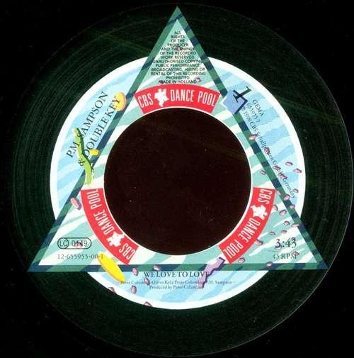 P-M-Sampson-And-Double-Key-We-Love-To-Love-7-034-Vinyl-Schallplatte-32396