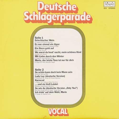 Various-Deutsche-Schlagerparade-Vocal-LP-Vinyl-Schallplatte-125647
