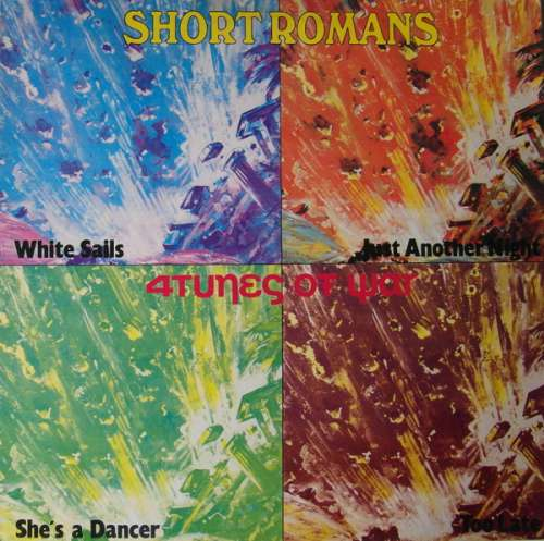 Short-Romans-4tunes-Of-War-12-034-Maxi-Vinyl-Schallplatte-72640